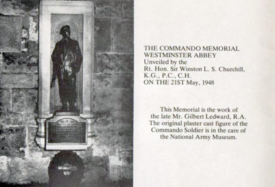 Commando Memorial Westminster Abbey