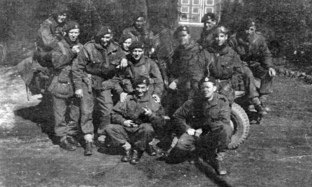 James King and others of 45RM Commando 'A' Troop.