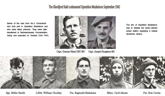 Commandos executed after Operation Musketoon