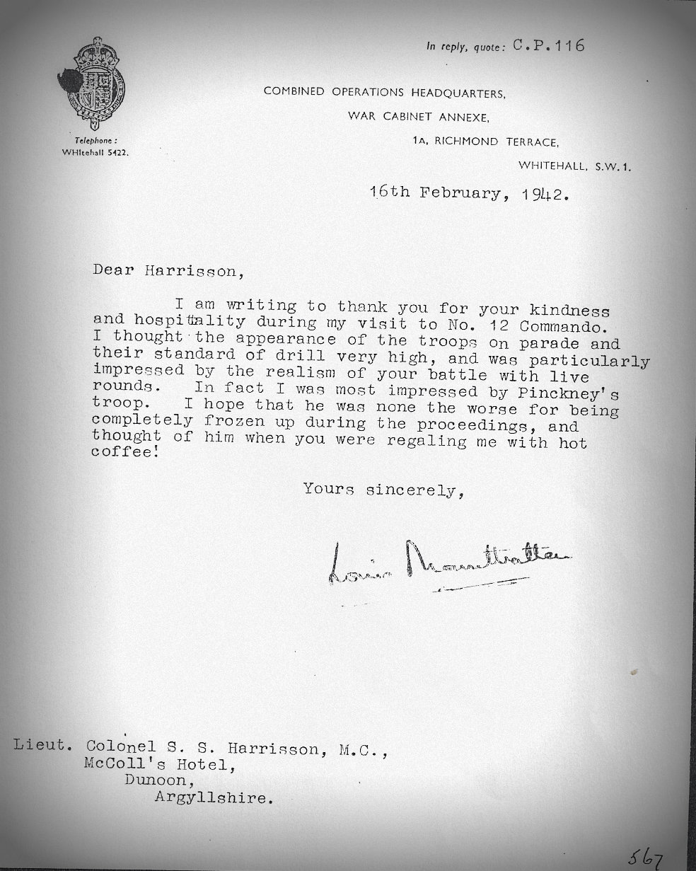 "letter to lord montbatten ""the fourteenth army's exploits under the leadership of lieut-general sir william  slim and the overall command of general sir george giffard, were deservedly."