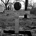 Grave of Gnr O'Rourke 6 Commando