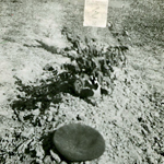 Original grave of Lt Bryant 5 Commando