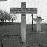 Original grave of Lieut. Winston 45RM Commando