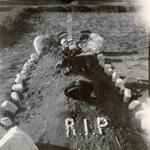 Original grave of Cpl Taylor 5 Commando