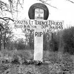 Grave of Lt TJ Hugo 6 Commando