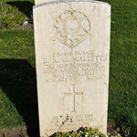 Grave of Tpr Mallett 3 Commando