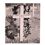 Original grave of Donald Macquarrie