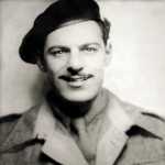 Marine Bernard Cann 45 Commando
