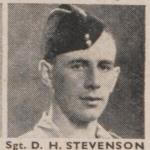 Sergeant Donald Stevenson 48 Commando