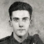 Signalman John R.S. Currie,  Commando Bde Signals