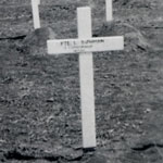 Original Grave of Private Bowman