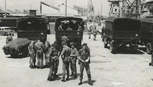 8 Alma Battery RA Singapore 1965