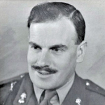 Lt Col Shaw OC No 5 Commando