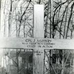 Original grave of Cpl Maybury 4 Commando