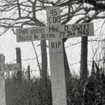 Original grave of Mne Sweet 45RM Commando