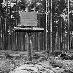 Grave of Lt Griffith 10 Commando