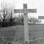 Original grave of Mne Symes 45RM Commando