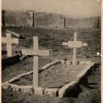 Grave at Akyab of Marine Charles Haw
