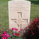 Grave of Pte Charles Lea