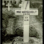 Grave of Marine Leonard Waygood