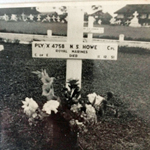 Grave of Cpl Howe RM