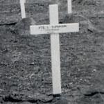 Original Grave of Private Bowman